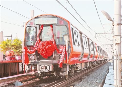 中国地铁将首次出口美国