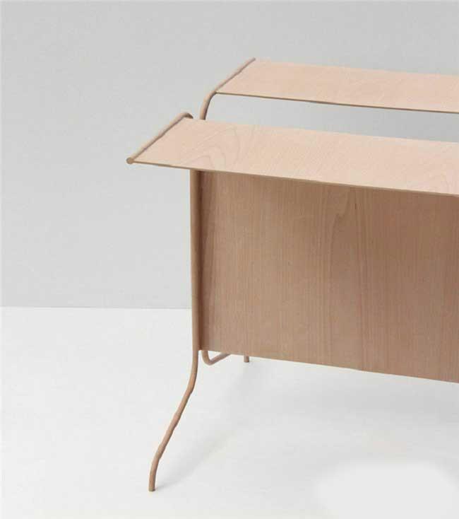 两款极简家具:展现独特材质的制造工艺