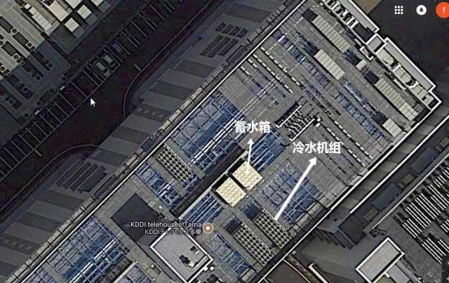 图13:KDDI数据中心在电子地图系统中的卫星图
