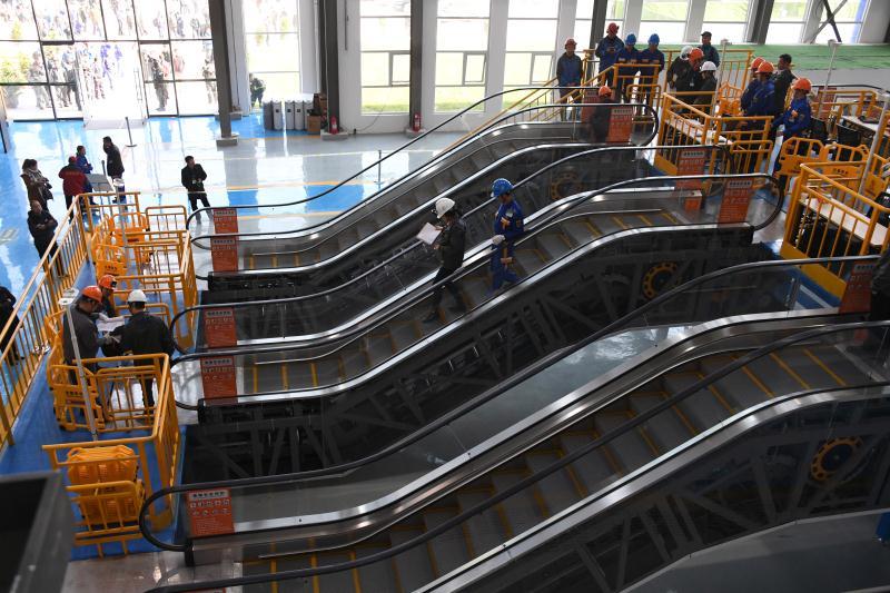 德州:全国首届电梯安装维修工职业技能竞赛决赛揭幕