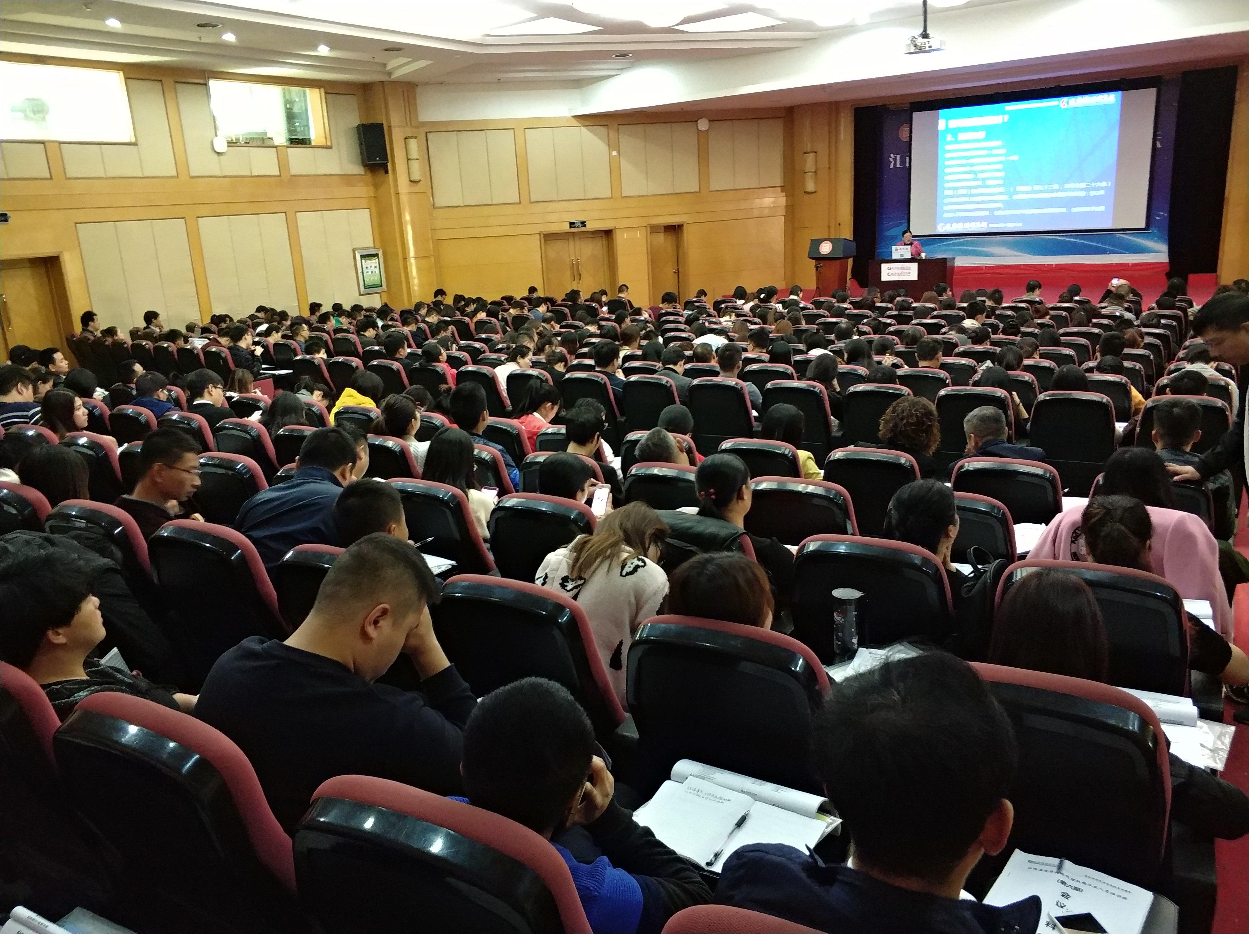 讲政策说法理 江西集中培训代理机构从业人员