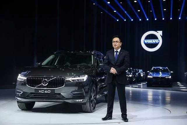沃尔沃汽车集团大中华区销售公司总裁陈立哲致辞