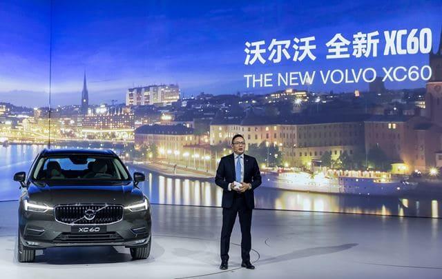 沃尔沃汽车集团全球高级副总裁,亚太区总裁兼CEO袁小林