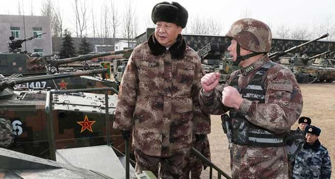 大抓实战化军事训练 聚力打造精锐作战力量
