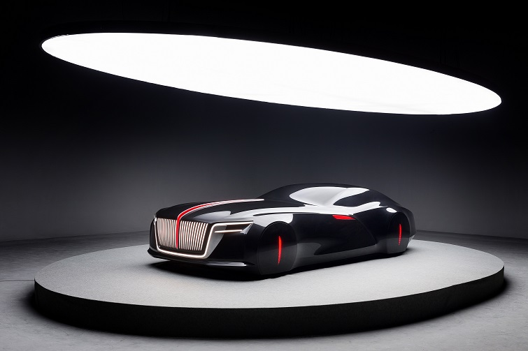 """""""新红旗""""概念模型车展现了未来新红旗家族的统一设计语言"""