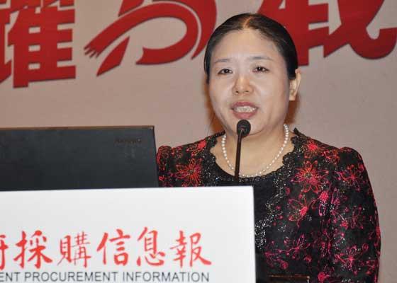 政府采购信息报社创办社长刘亚利
