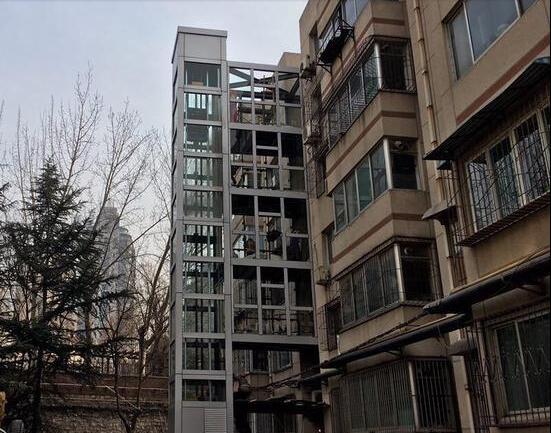 济南老楼加装电梯进入冲刺阶段