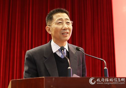 陈建明:助力高质量经济发展是政府采购的使命