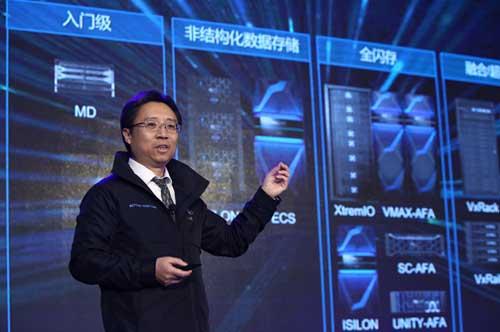 戴尔易安信大中华区数据中心销售总经理刘志洪