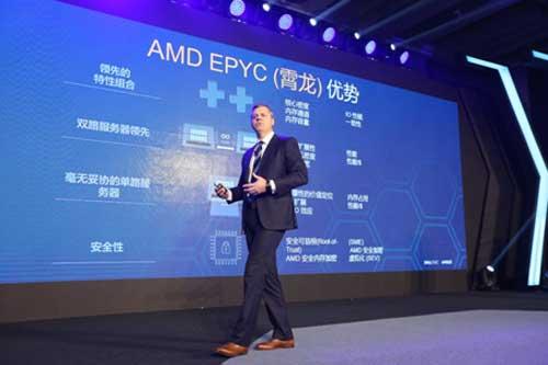 AMD全球副总裁兼数据中心与嵌入式解决方案事业部总经理Scott Aylor