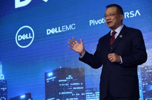 戴尔科技集团大中华区总裁黄陈宏博士