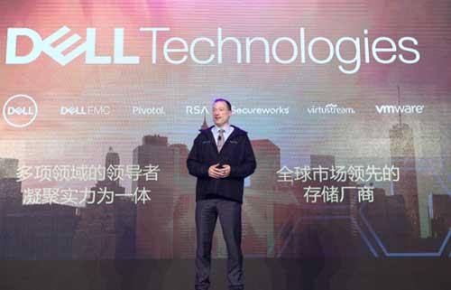 戴尔易安信跨产品运营总裁兼首席技术官JohnRoese