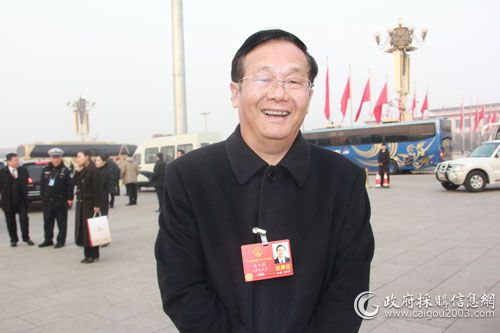 全国人大代表、郑州宇通集团有限公司总裁汤玉祥
