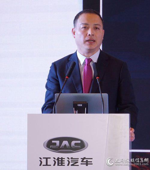 江淮商务车公司副总经理 冯有成