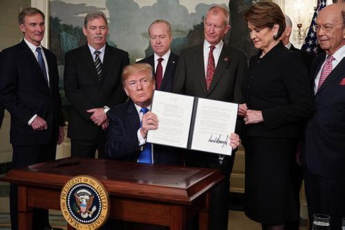 挑起贸易摩擦在美国国内引发担忧