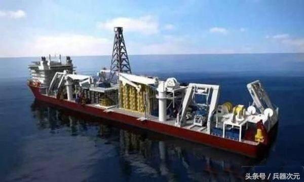日本眼红中国最新采矿船!抢着来购买,开采深度高达2500米