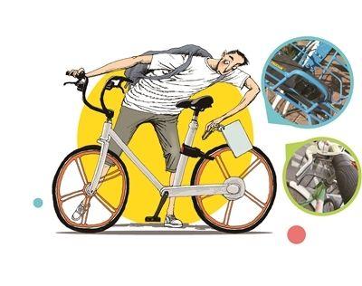 共享自行车质量抽查不合格率12.5%