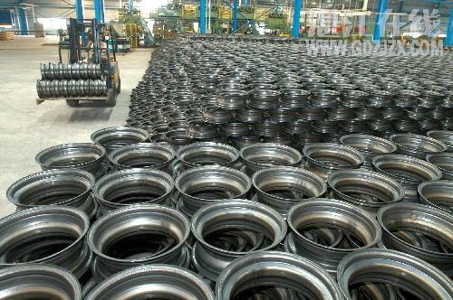 """美国对中国产钢制轮毂产品发起""""双反""""调查"""