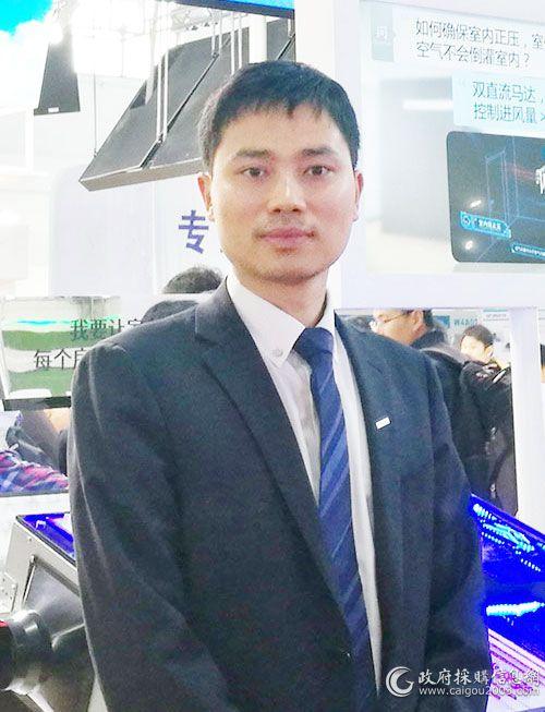 广东松下环境系统有限公司新市场推进部部长  邓育涌