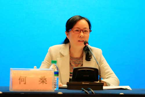 江西省财政厅党组成员、省农业综合开发办主任何桑