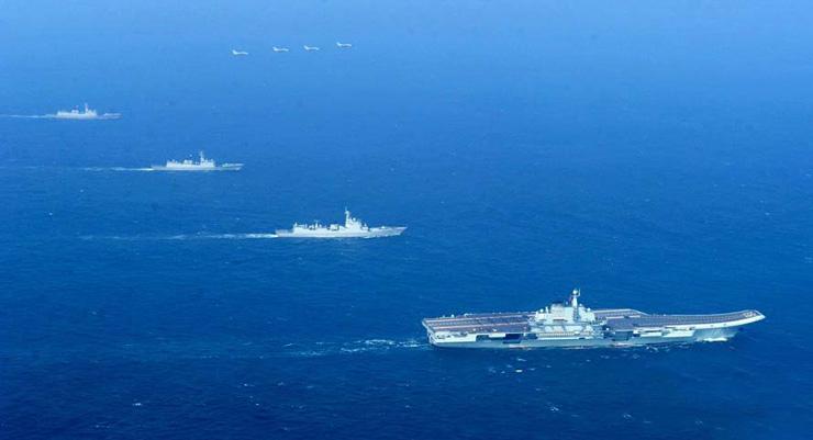 辽宁舰公开夜间作战、对陆攻击能力 敌对势力瑟瑟发抖