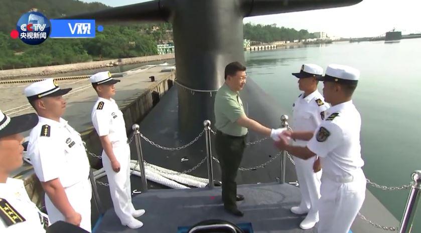 习近平视察北部战区海军