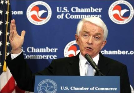 不满特朗普关税政策 美商会发动批评攻势