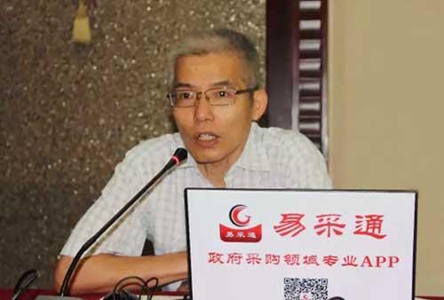 中招国际招标有限公司副总裁胡杰