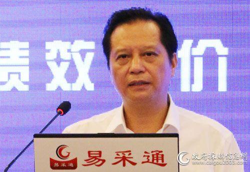广西壮族自治区财政厅政府采购监督管理处 黄钢平