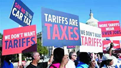 美行業協會發起游說行動反對政府加征關稅