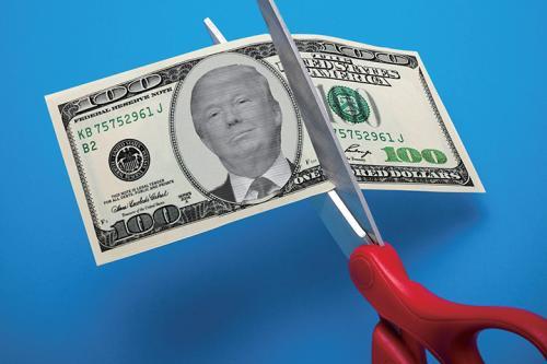 """特朗普减税:虚假的""""持久繁荣"""""""