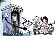 电梯困人 卡门引发的占3成