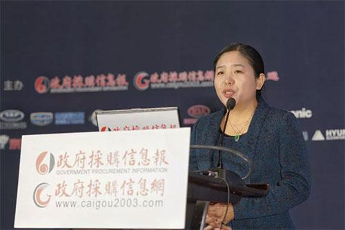 政府采購信息報社創辦社長劉亞利