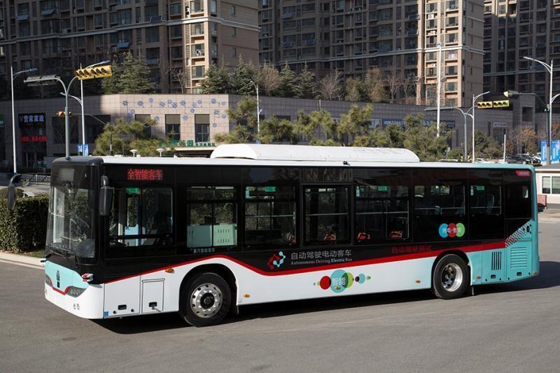 山东首辆无人驾驶公交车来了!