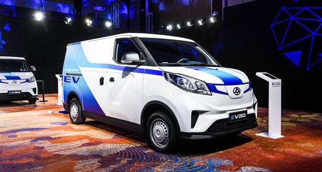 全面领先物流用车 纯电智能物流车EV30上市