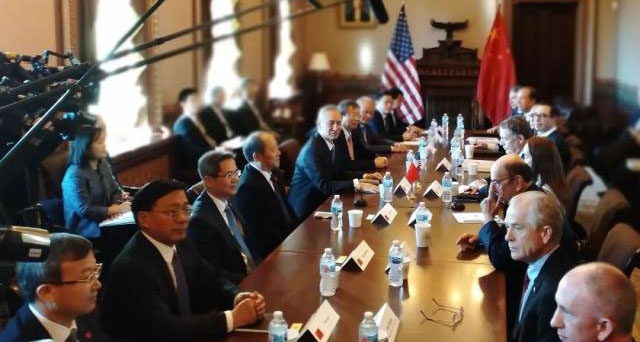 中美经贸高级别磋商结束 特朗普会见刘鹤