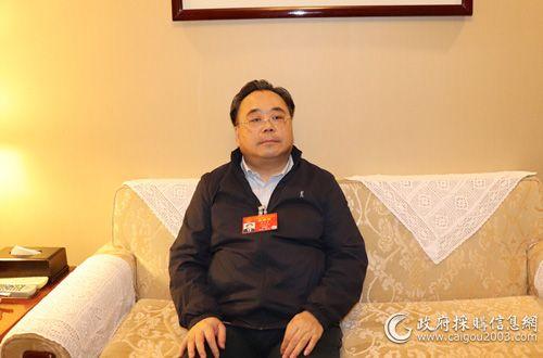 全國人大代表、湖北省財政廳廳長龍正才