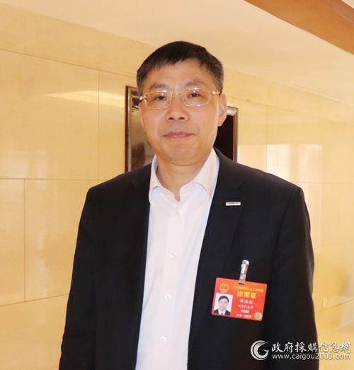 全国人大代表、浪潮集团董事长兼CEO孙丕恕