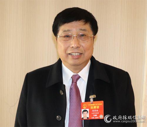 全国人大代表、海信集团董事长周厚健