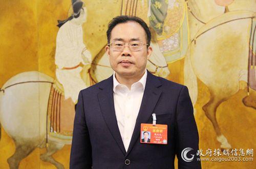 全國兩會人大代表、廣東省財政廳廳長戴運龍