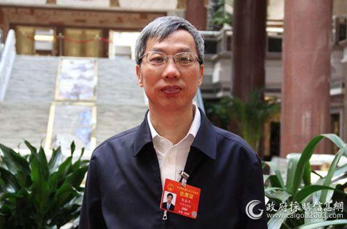 全國人大代表、寧夏回族自治區財政廳廳長陳春平
