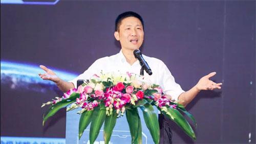 深圳市蓝凌软件股份有限公司董事长杨健伟