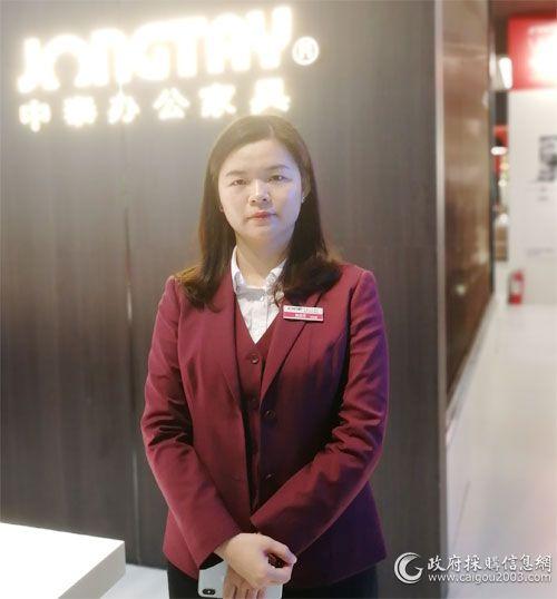 中山市中泰龙办公用品有限公司品牌总经理陈琼芳