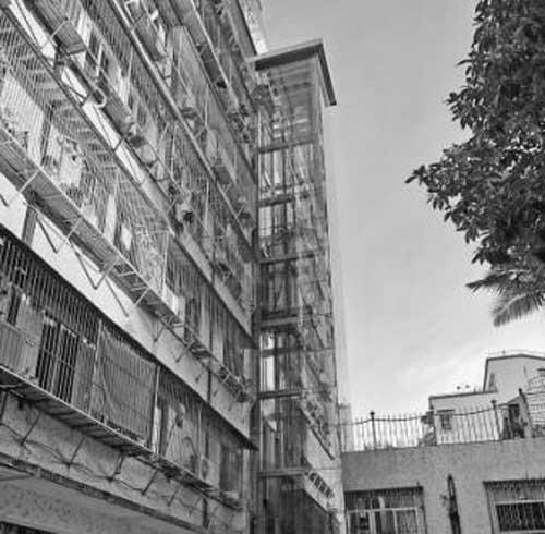 汕头市旧楼加装电梯 一个梯口补贴8万