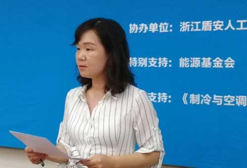盾安环境市场部部长陈书舫
