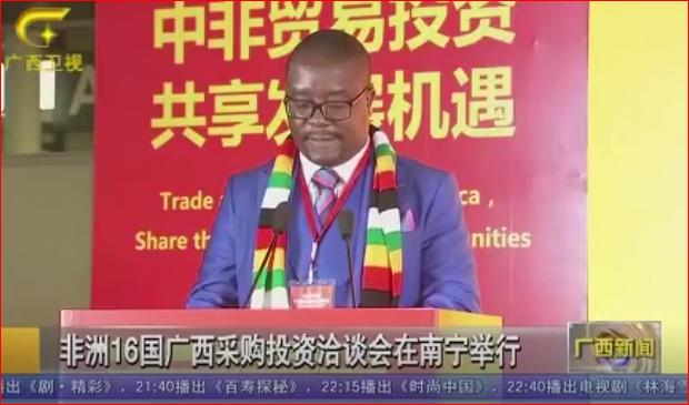 非洲16國廣西采購投資洽談會在南寧舉行