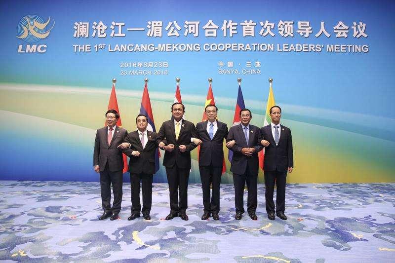 李克強歡迎瀾湄五國領導人