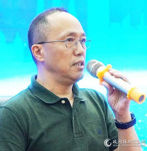 南京市财政局政府采购管理处 处长 张益民