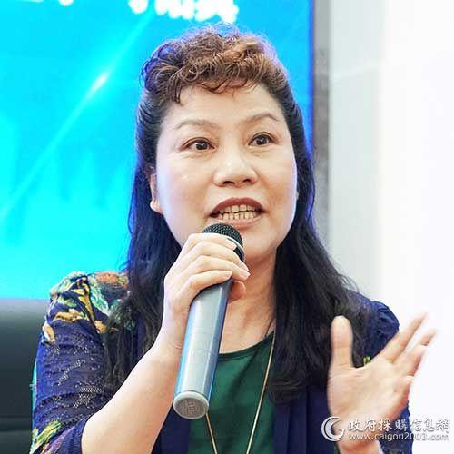 國家稅務總局福建省稅務局采購中心 副主任 林柳枝
