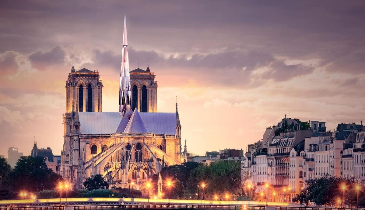 巴黎圣母院建筑竞赛中国建筑师夺冠